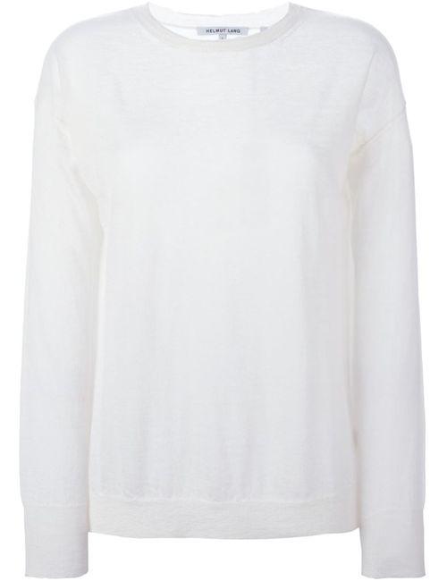 Helmut Lang   Женское Fine Knit Sweater
