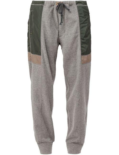 Kolor | Мужское Серый Panelled Track Pants