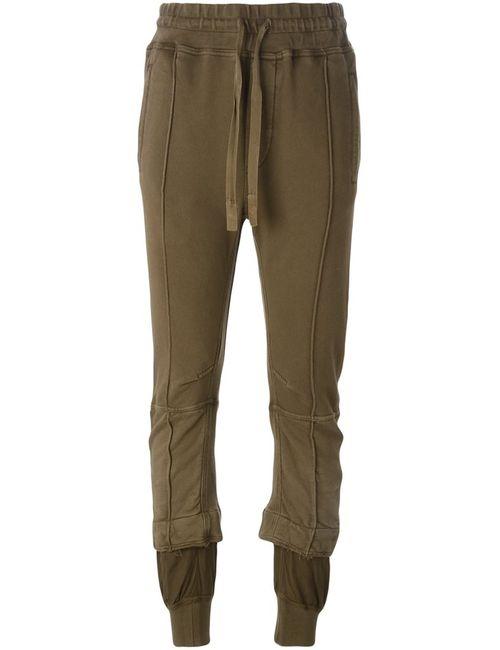 Haider Ackermann | Женское Зелёный Cropped Track Pants