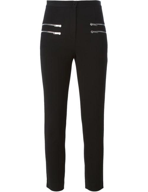 ICEBERG   Женское Чёрный Zipped Pockets Skinny Jeans