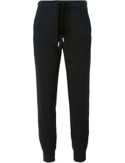 T By Alexander Wang | Чёрный Rear Contrast Trim Track Pants