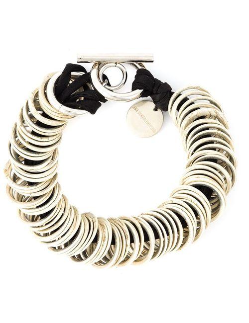 Ann Demeulemeester | Женское Черный -Ring Bracelet