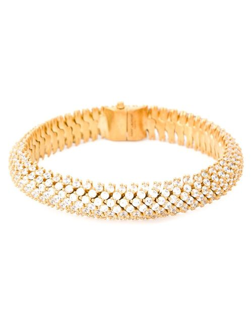 Saint Laurent | Женское Серебристый Popcorn Chain Bracelet