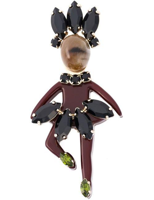 Marni | Женское Многоцветный Dancing Lady Brooch