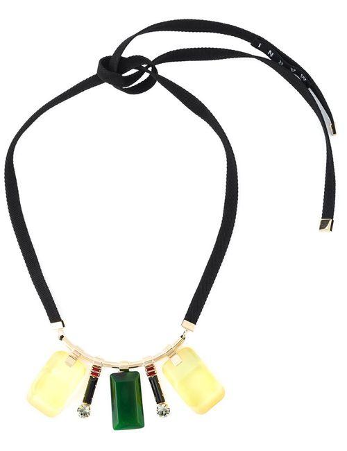 Marni   Женское Многоцветный Multiple Pendant Necklace