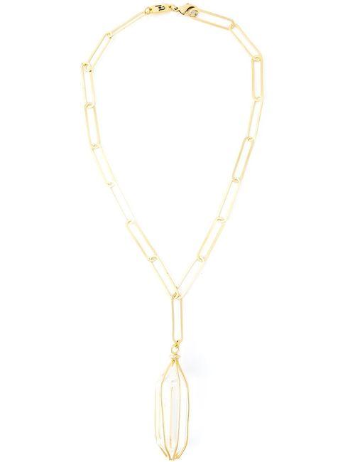 Rosantica   Женское Серебристый Chain Crystal Pendant