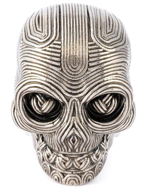 Alexander McQueen | Мужское Серебристый Skull Ring