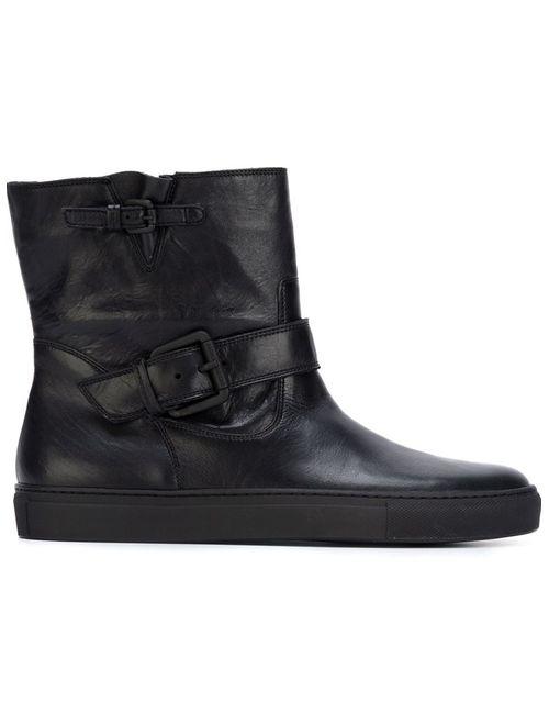 L' Autre Chose | Женские Чёрные Ботинки С Ремешком