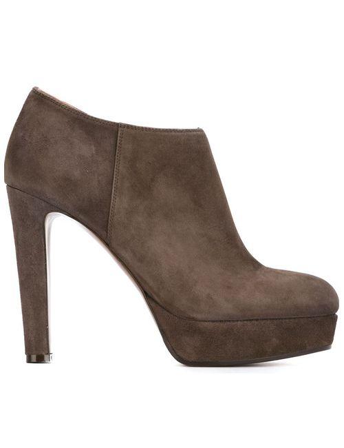 L' Autre Chose | Женские Серые Ботинки По Щиколотку На Платформе