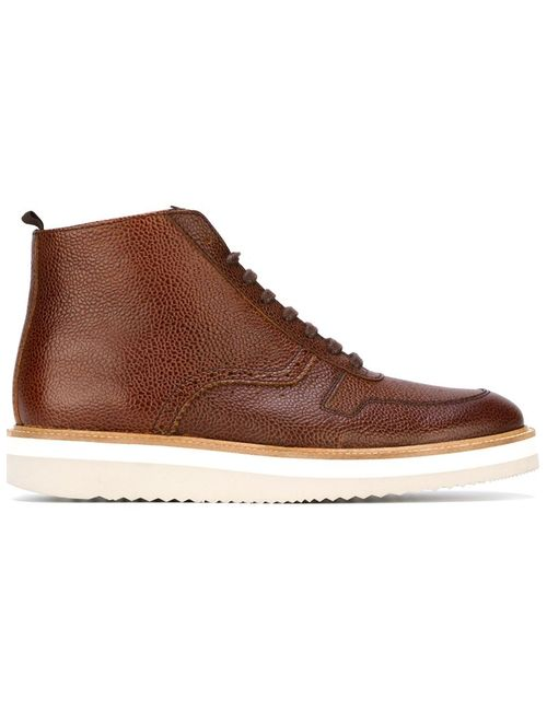 Swear   Мужские Коричневые Ботинки На Шнуровке Louis 10