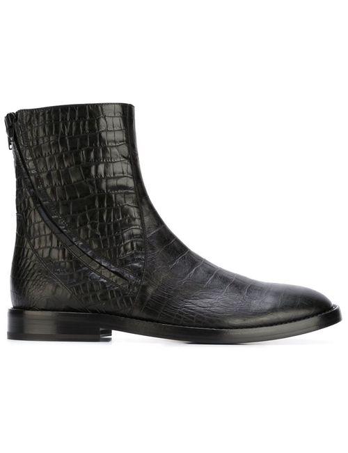 A.F.Vandevorst | Мужские Чёрные Ботинки 152y3670