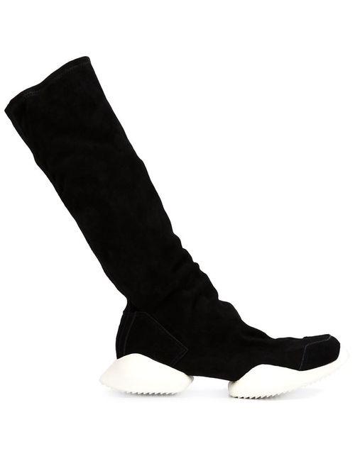 Rick Owens | Мужские Чёрные Сапоги Tech Runner X Adidas