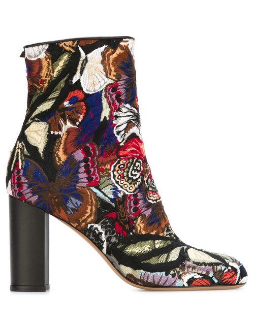 Valentino Garavani | Женские Многоцветные Ботинки Camubutterfly