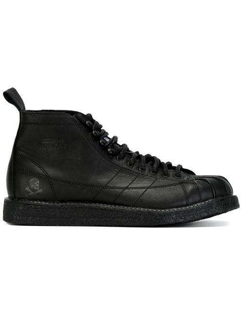 adidas Originals | Мужские Чёрные Кеды Nh Shelltoe X Neighborhood