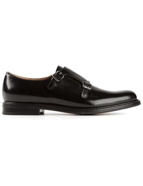 Church'S | Чёрный Monk Double Strap Shoes