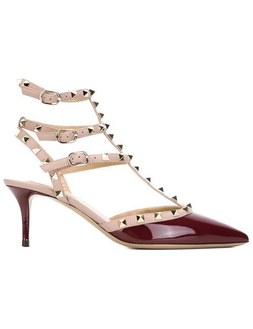 Valentino Garavani | Женское Розовый Rockstud Pumps