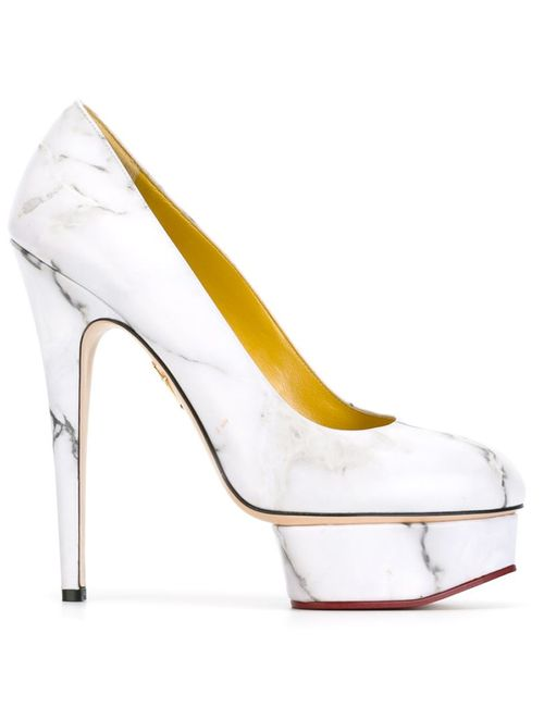 Charlotte Olympia   Женские Белые Туфли Dolly