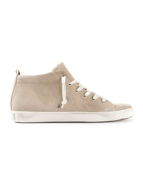 Leather Crown | Мужское Nude & Neutrals Hi-Top Trainer