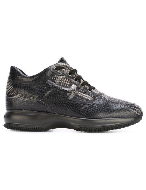 Hogan   Женское Чёрный Interactive Sneakers