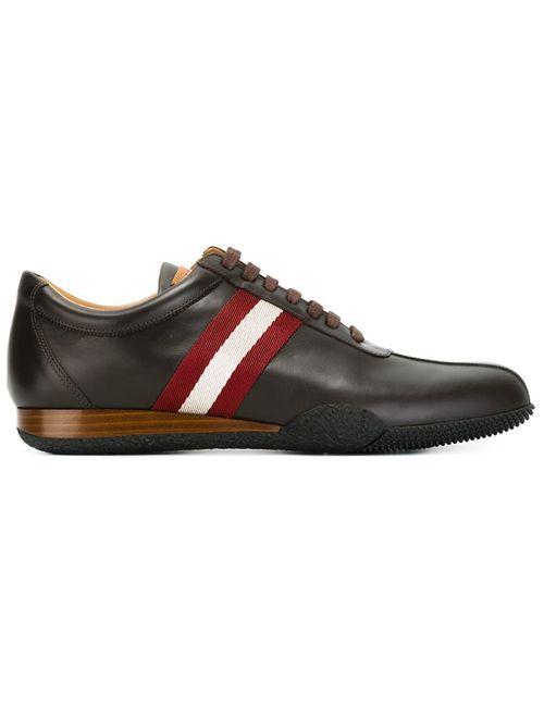 Bally   Мужское Коричневый Stripe Detail Sneakers