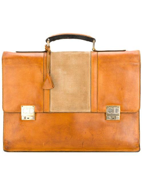 Christian Dior Vintage   Женское Buckle Briefcase