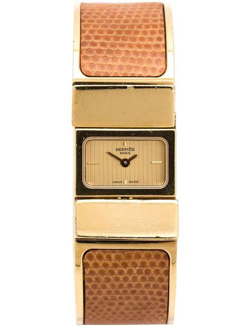 Hermès Vintage | Женское Коричневый Loquet Bangle Watch