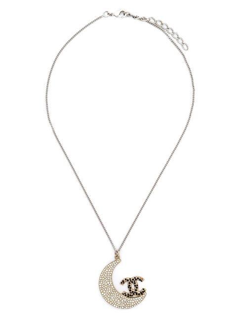Chanel Vintage | Женское Серый Moon Pendant Necklace