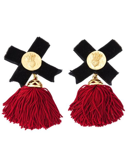 Saint Laurent | Женское Ananas Baroque Earrings
