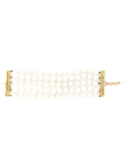 Chanel Vintage | Женский Белый Браслет Из Искусственного Жемчуга