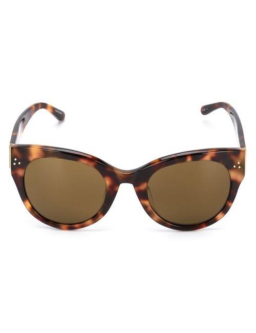 Linda Farrow | Чёрный Cat-Eye Sunglasses