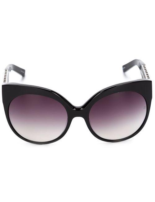 Linda Farrow | Чёрный 388 Sunglasses