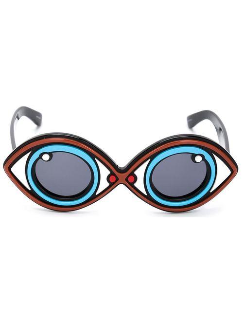 Linda Farrow | Синие Солнцезащитные Очки Yazbukey 2