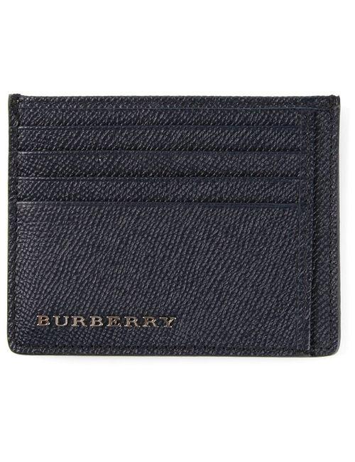 Burberry | Синяя Классическая Визитница