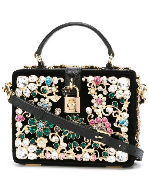 Dolce & Gabbana | Женское Черный Embellished Cross-Body Bag