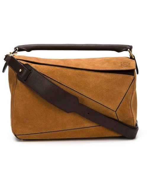 Loewe | Женское Коричневый Small Puzzle Tote Bag