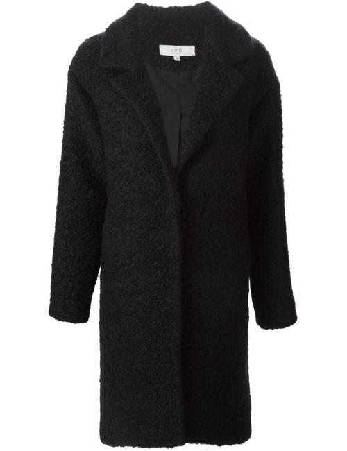 Vanessa Bruno Athe'   Женское Чёрное Однобортное Пальто