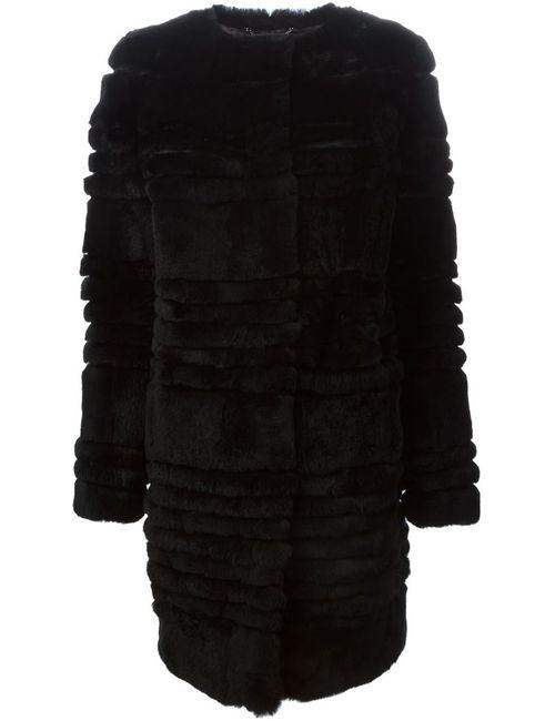 Diane Von Furstenberg | Женское Чёрное Пальто Bacall