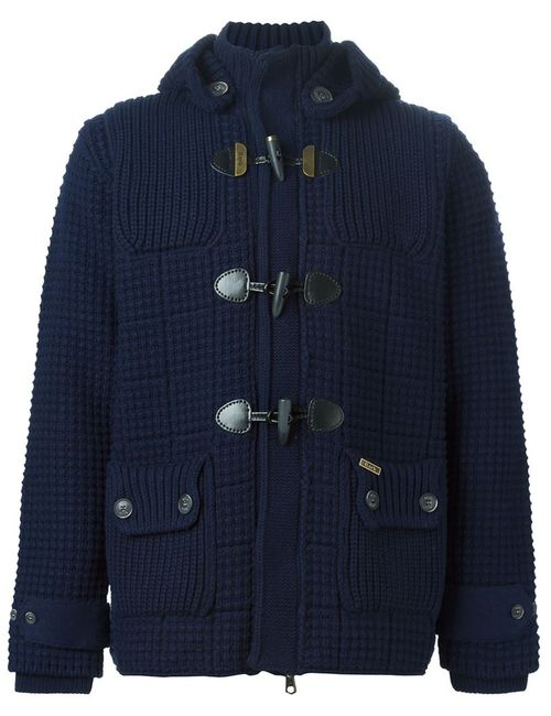 Bark | Женское Knitted Duffle Coat