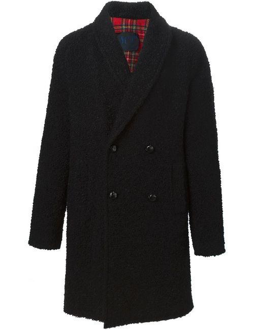 MP MASSIMO PIOMBO | Мужское Чёрный Double Bested Coat