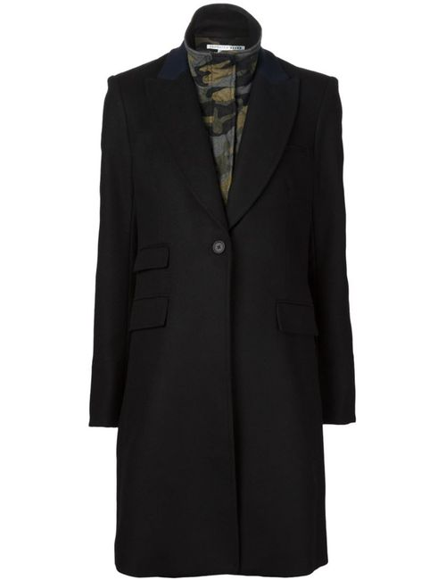 Veronica Beard   Женское Чёрный Chesterfield Dickey Coat