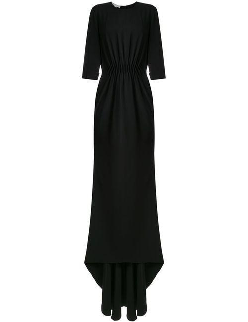 Stella Mccartney | Женское Черный Драпированное Вечернее Платье