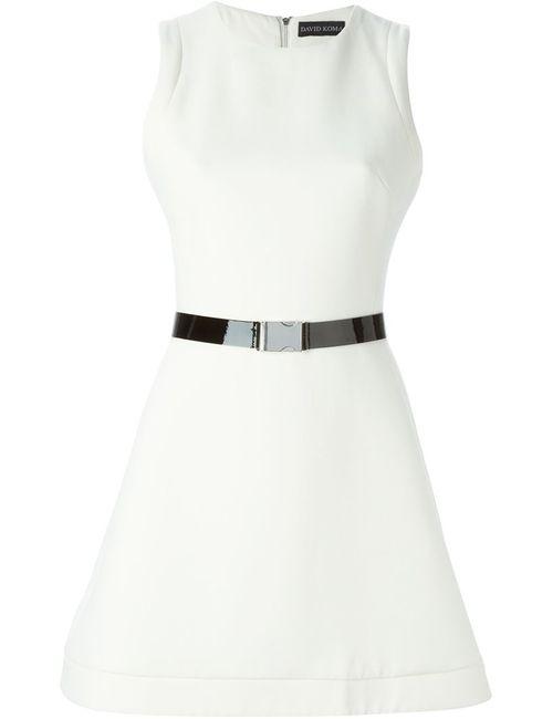 David Koma | Женское Buckled Belt Flared Dress