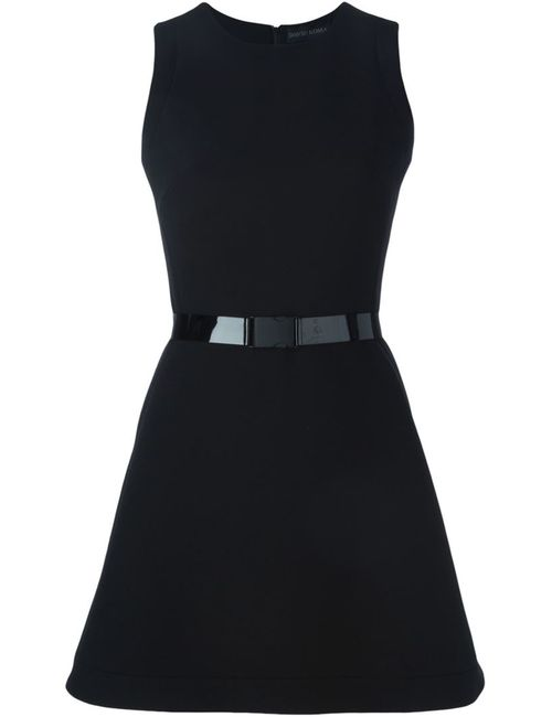 David Koma | Женское Чёрный Buckled Belt Flared Dress