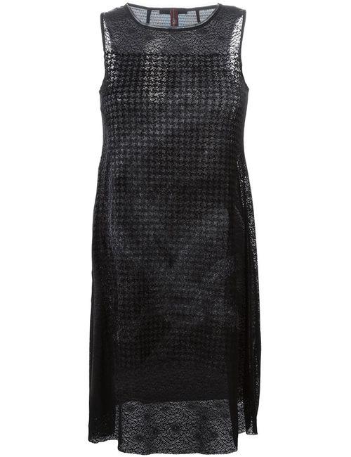 High | Женское Чёрный Sleeveless Shift Dress