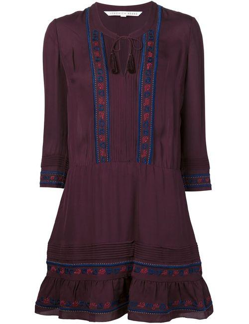 Veronica Beard | Женское Розовый Embroidered Dress