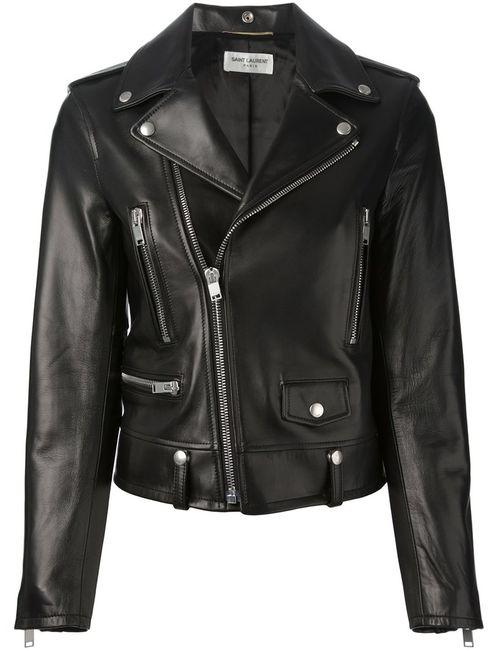 Saint Laurent   Женское Чёрный Biker Jacket