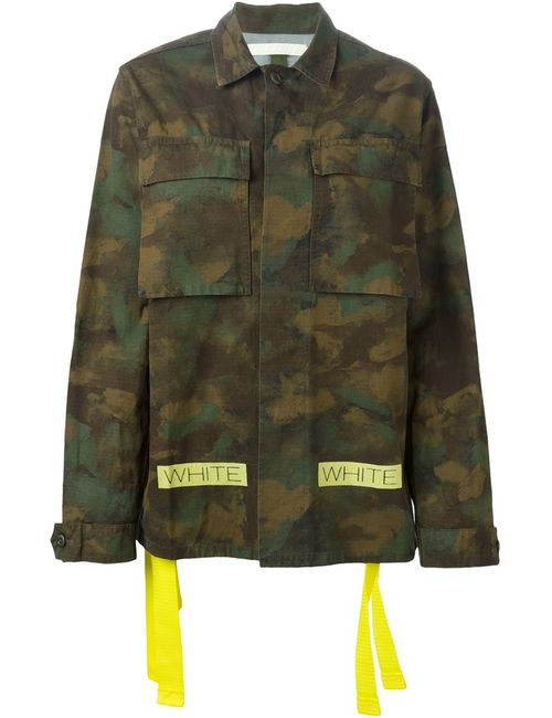 OFF-WHITE | Женское Camouflage Jacket