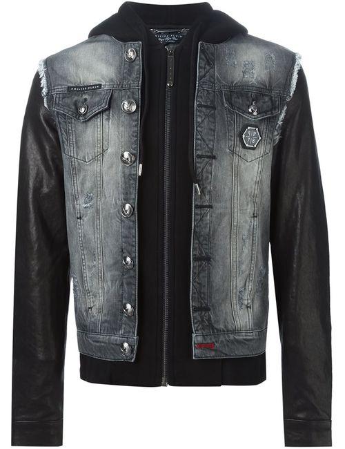 Philipp Plein | Мужская Серая Куртка Fit