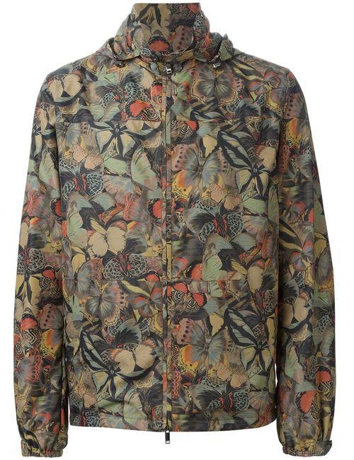 Valentino | Мужская Зелёная Куртка Camubutterfly