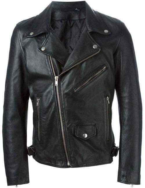 Blk Dnm | Мужское Чёрный Biker Jacket